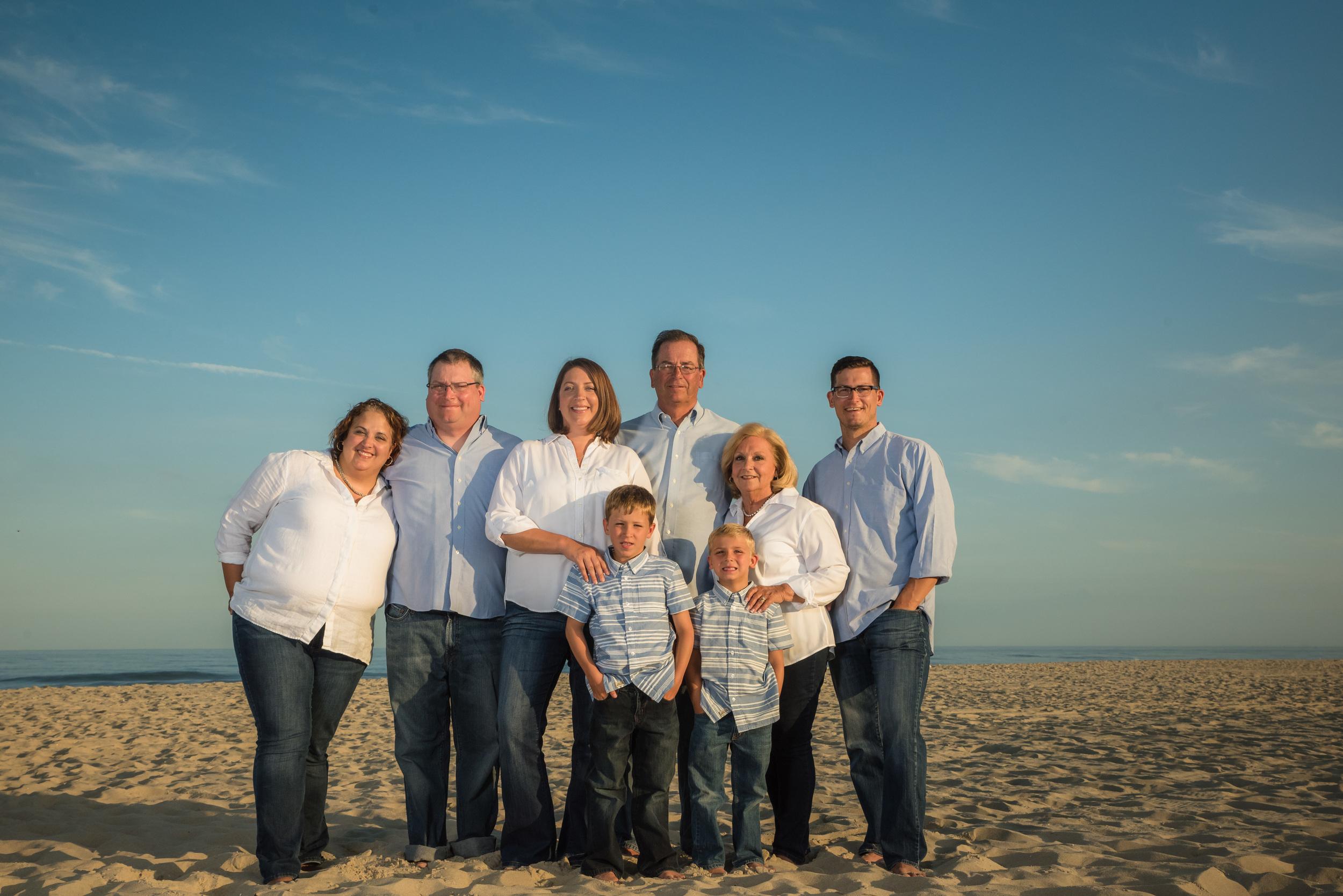 Long Beach Island Family Portraits, Dombrowski 1