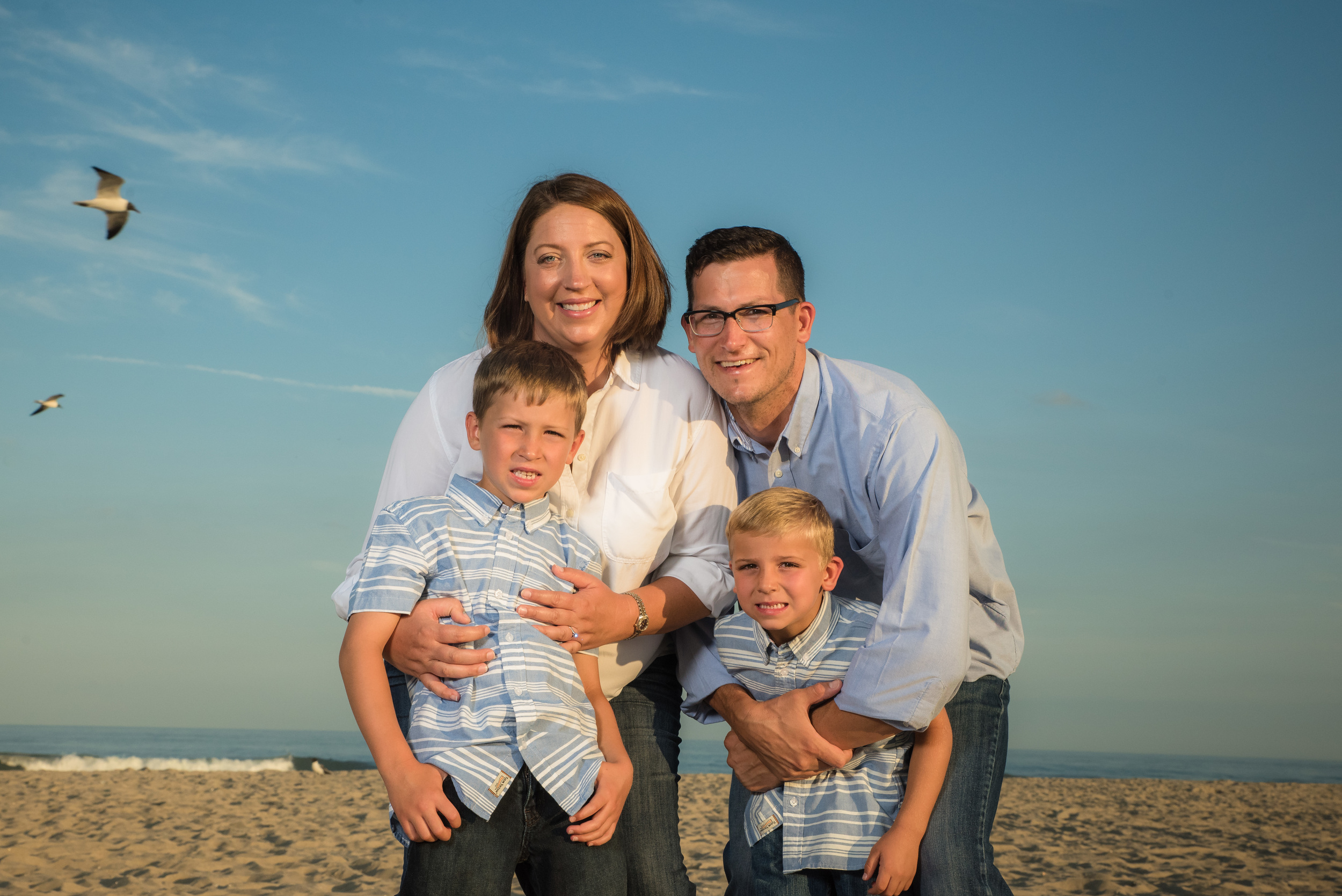 Long Beach Island Family Portraits, Dombrowski 3