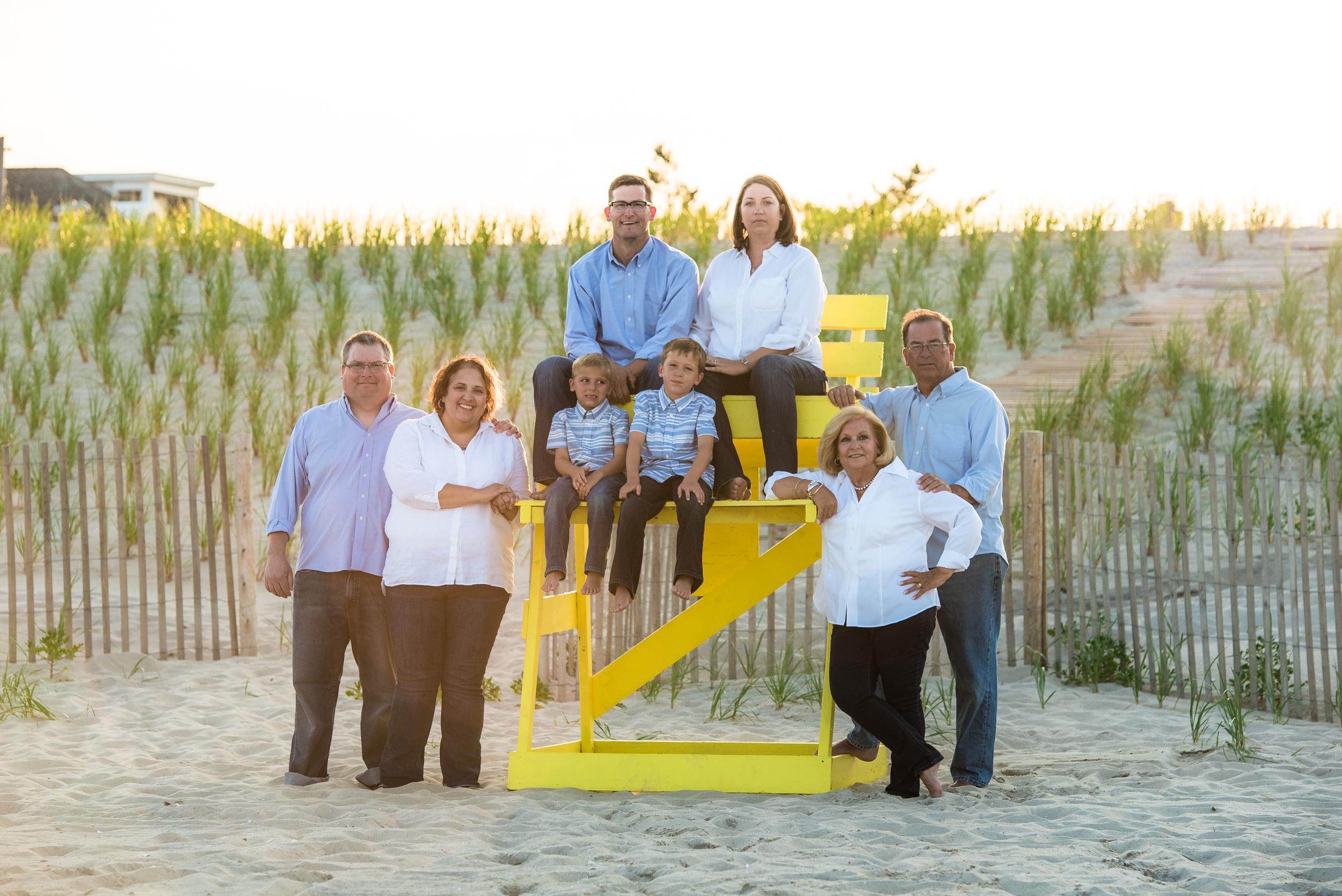 Long Beach Island Family Portraits, Dombrowski 7