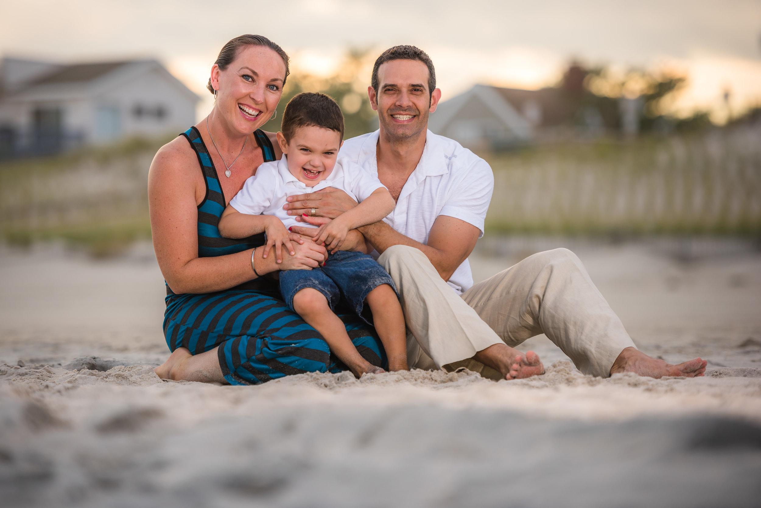 Long Beach Island Family Portraits | Adinda, Greg & James 10