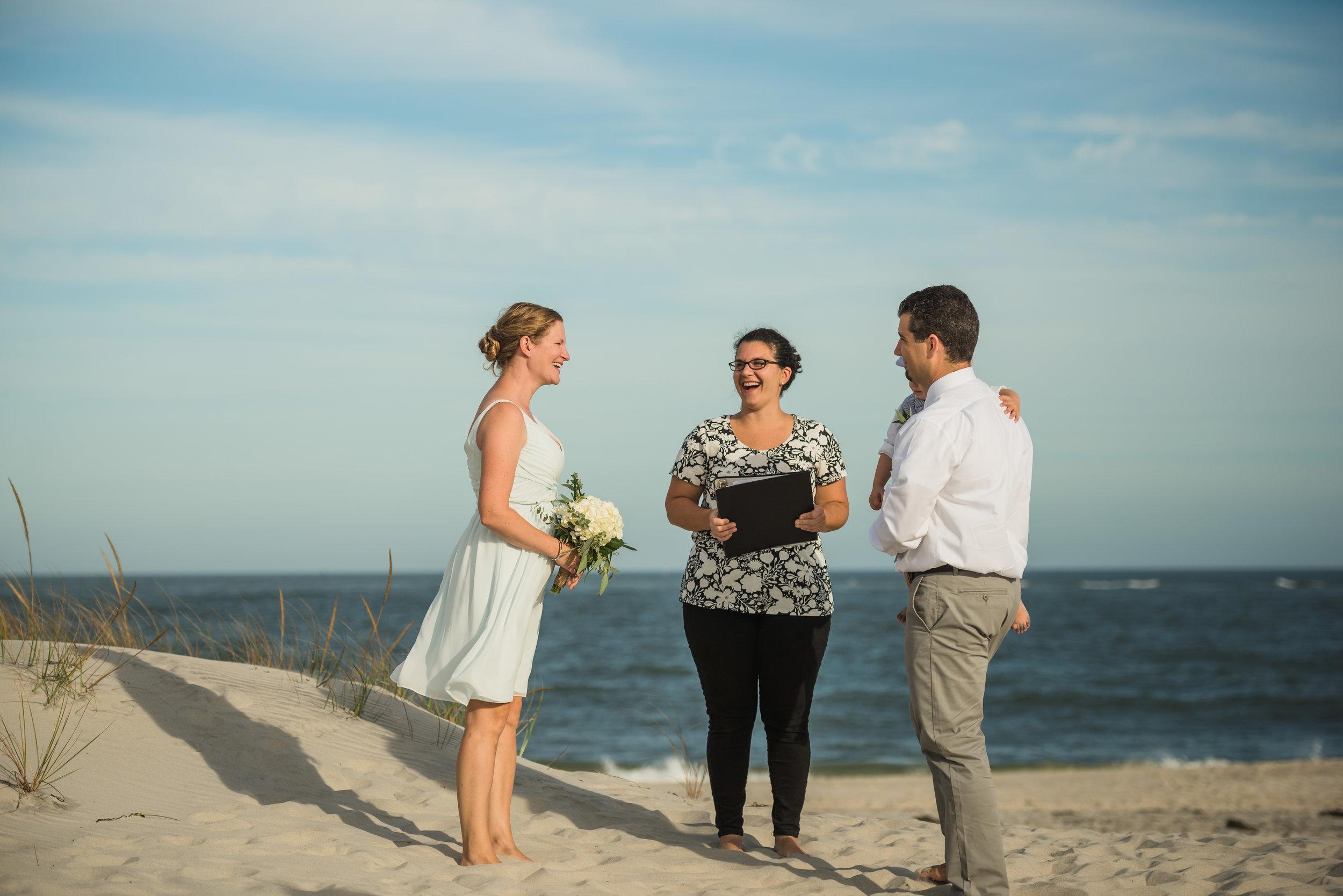 Long Beach Island Wedding Vow Photos Greg & Meagan 2