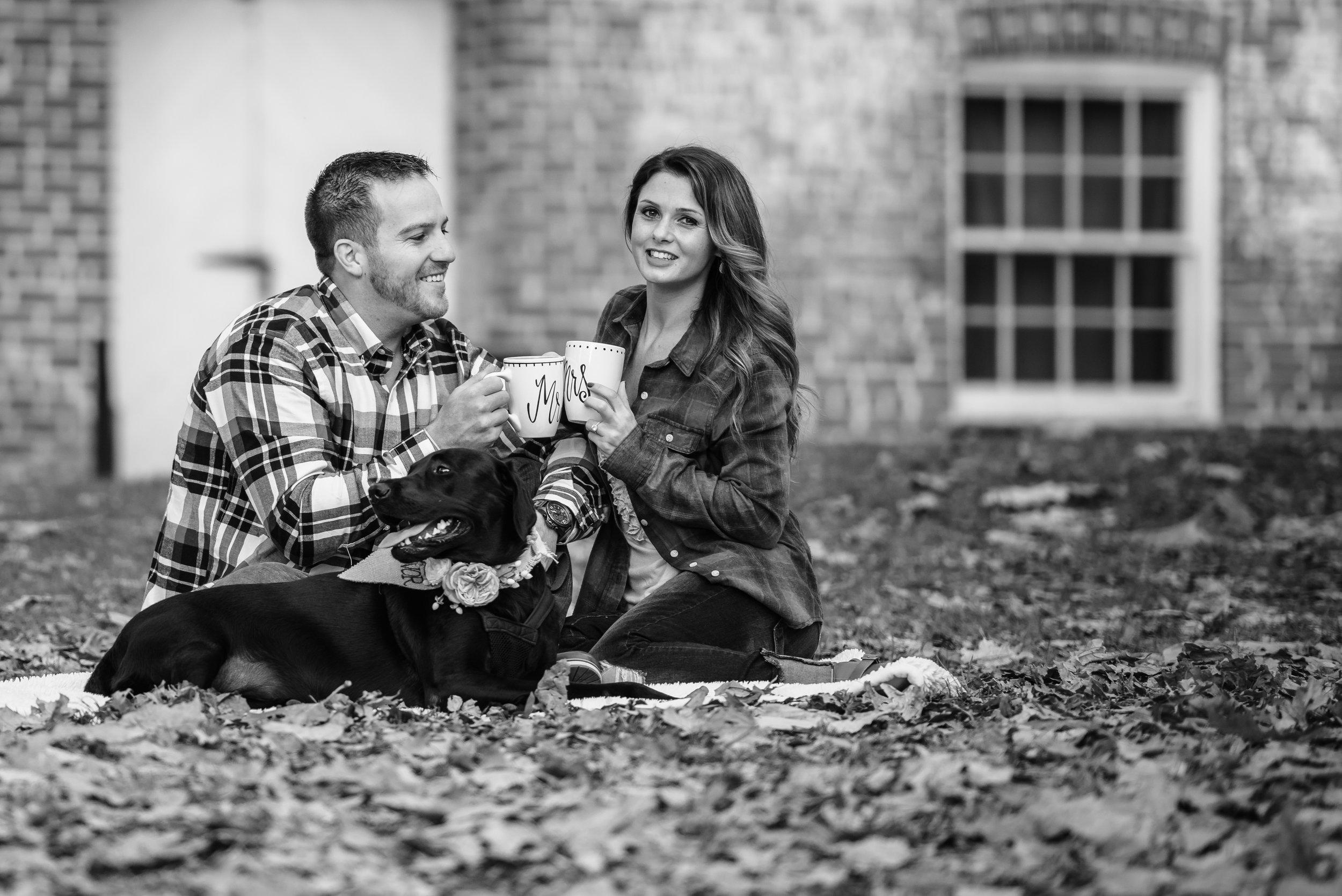 Allaire State Park NJ Engagement Session Chris & Deanna 10
