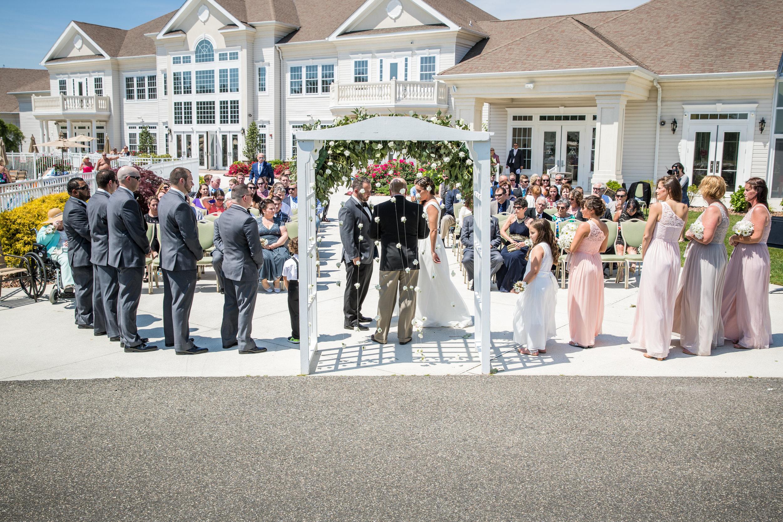 NJ Wedding at The Greenbriar Dom & Rebecca 25