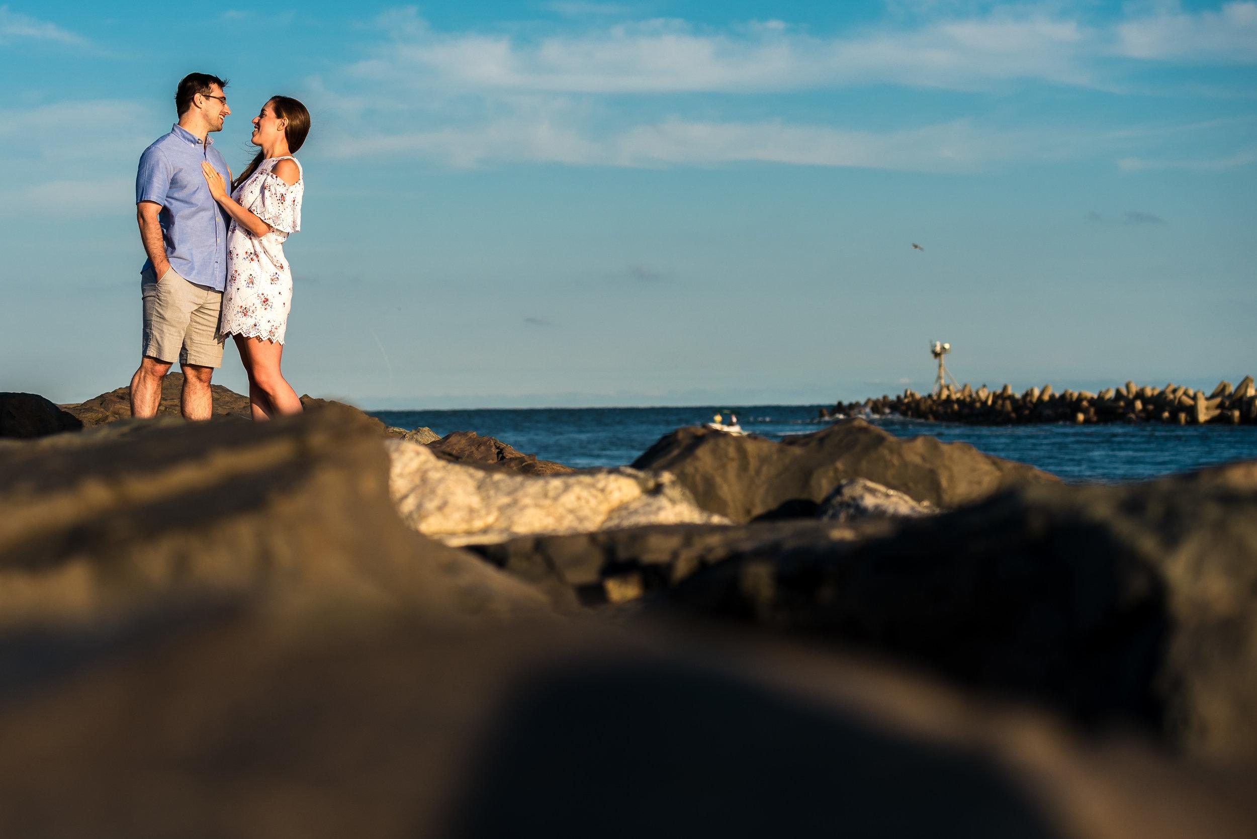 Manasquan Beach Engagement Photos Maria 4