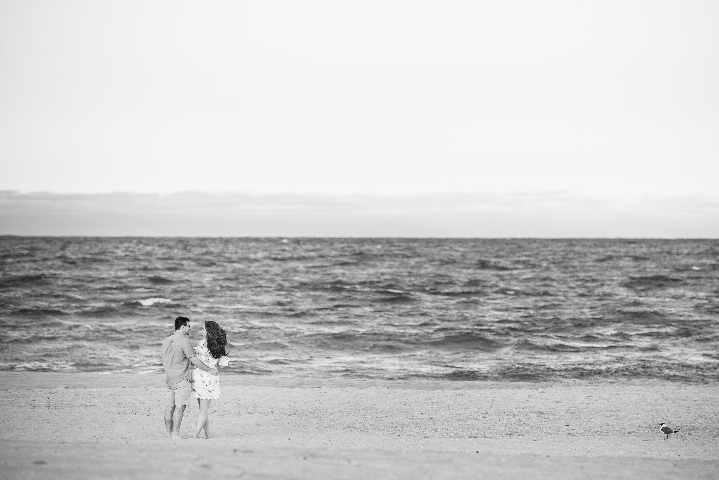 Manasquan Beach Engagement Photos Maria 7