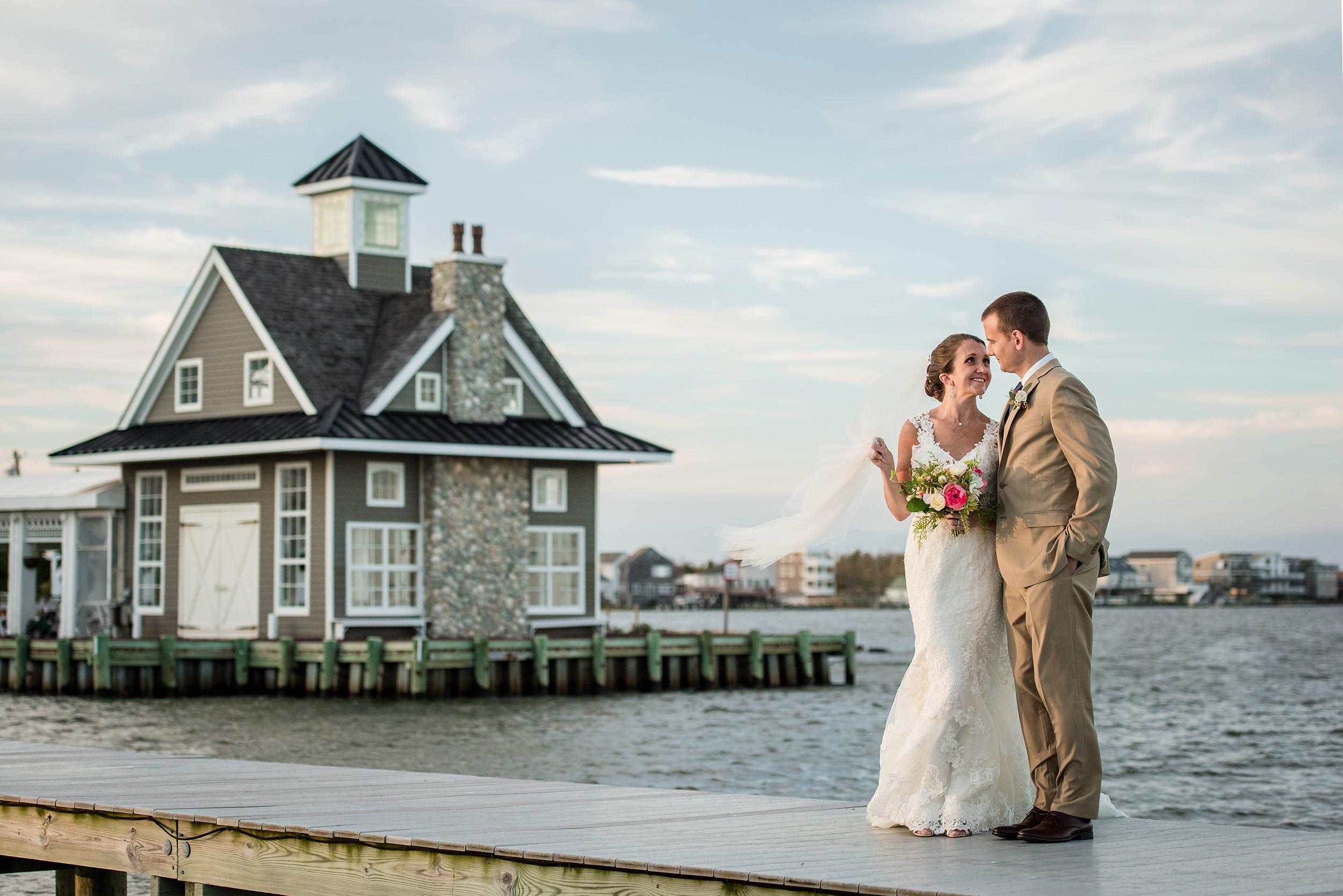 Mallard Island Yacht Club Wedding Photo