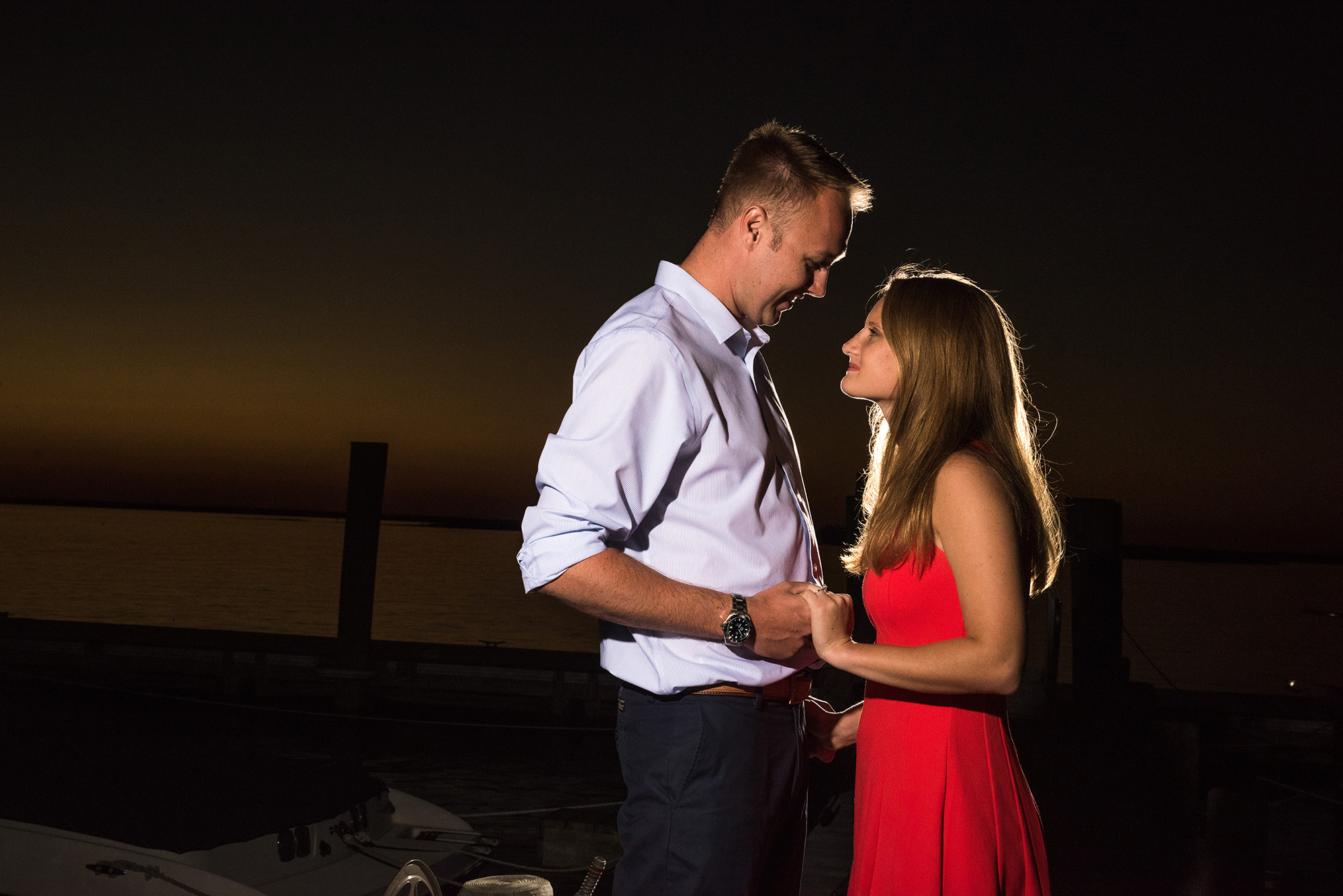 Brant Beach Yacht Club Engagement Photos - Kayla