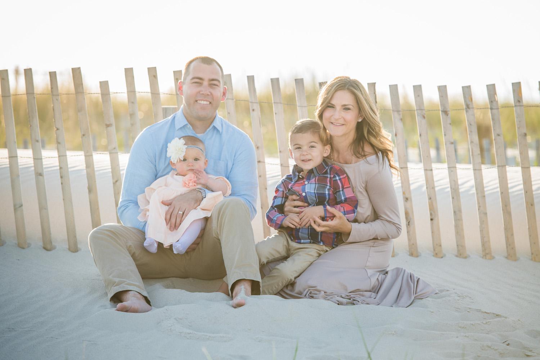 long beach island family photos on the beach