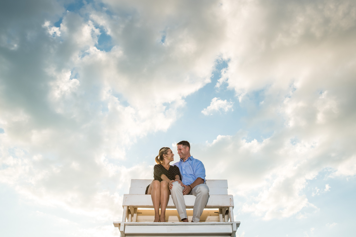 Surf City Long Beach Island Engagement Photos Jackie