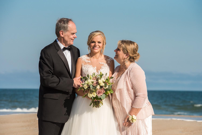 surf city yacht club wedding family portraits