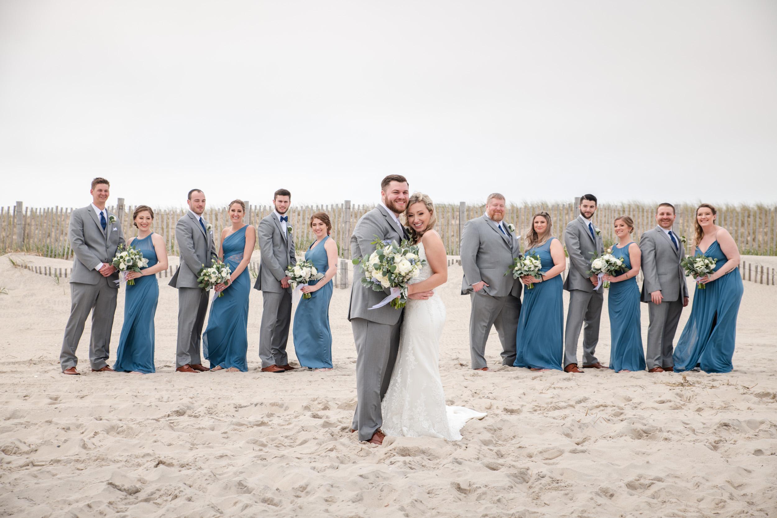 The Seashell Long Beach Island Bridal Party Photos