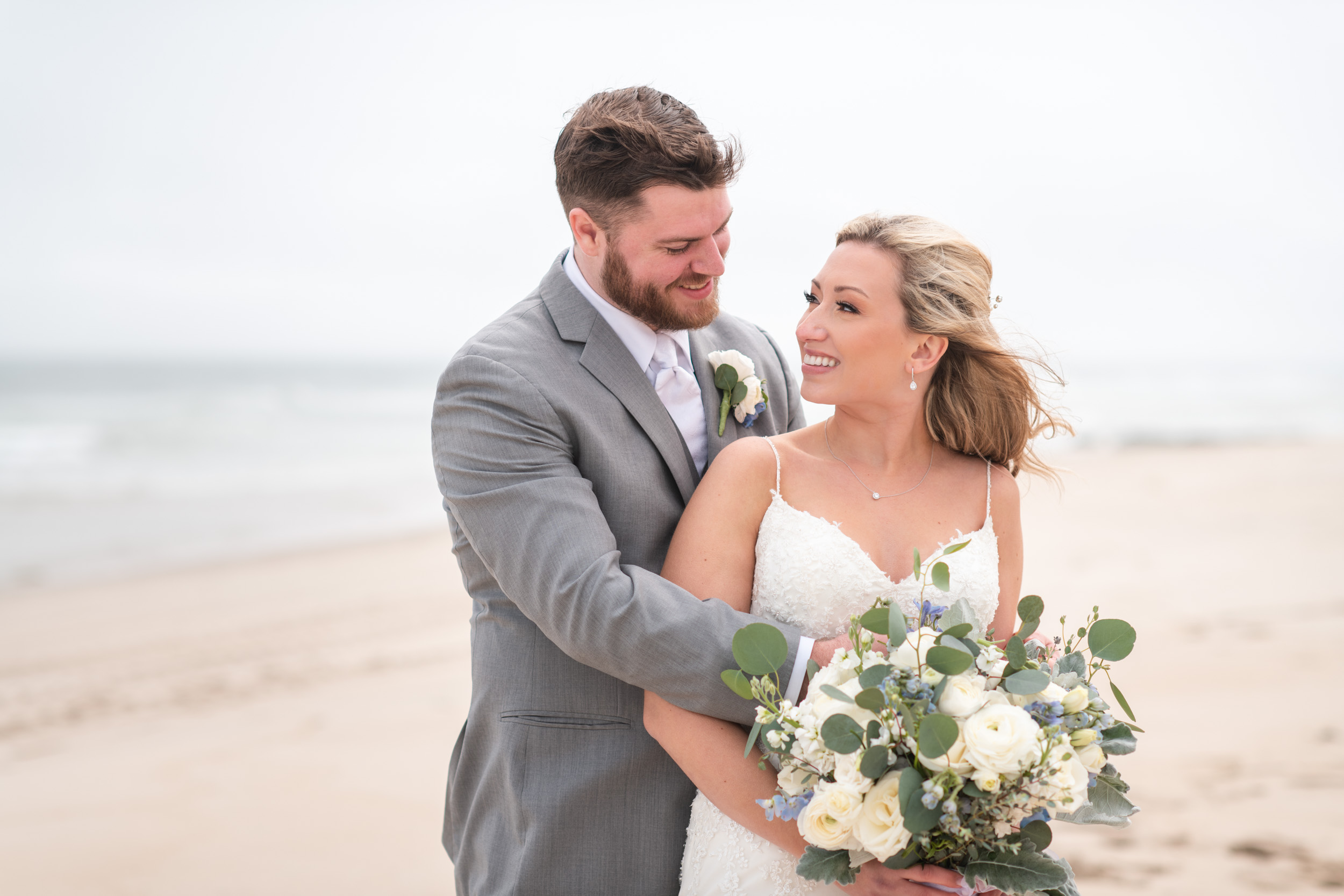 Long Beach Island Shell Wedding Beach Photos