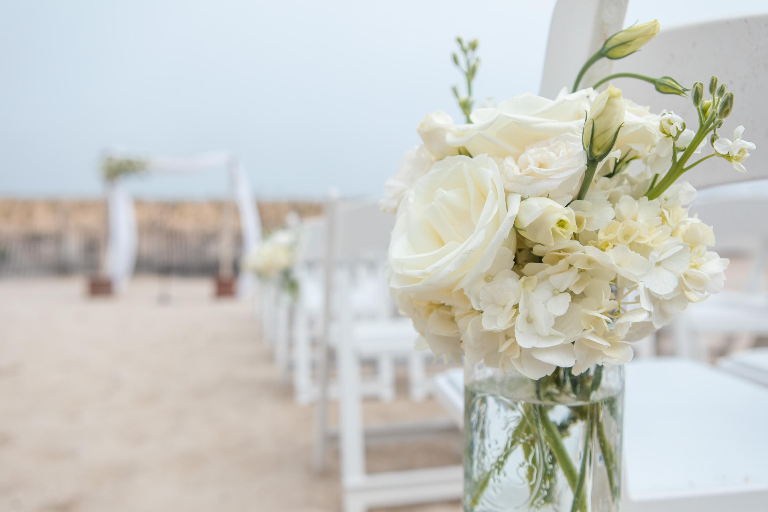 The Seashell on LBI Wedding Ceremony
