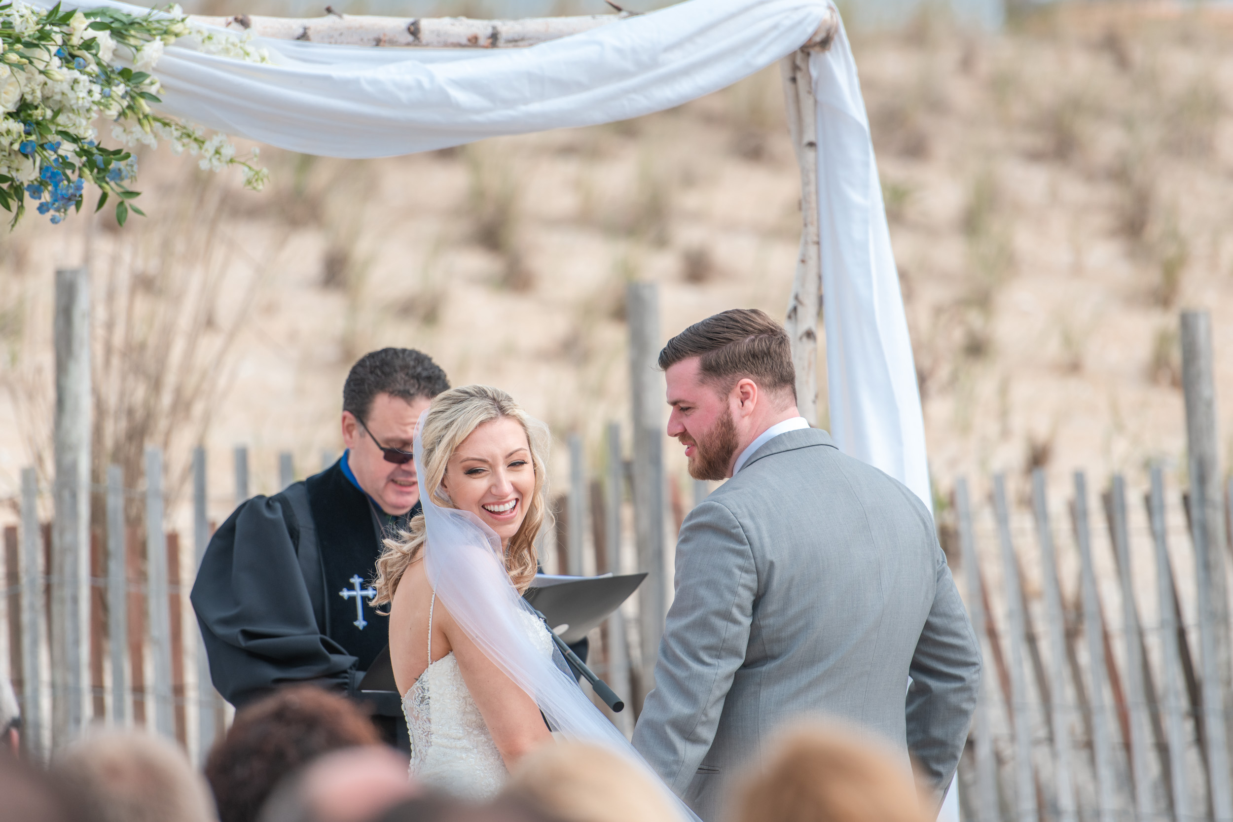 The Shell Beach Haven NJ Wedding Ceremony