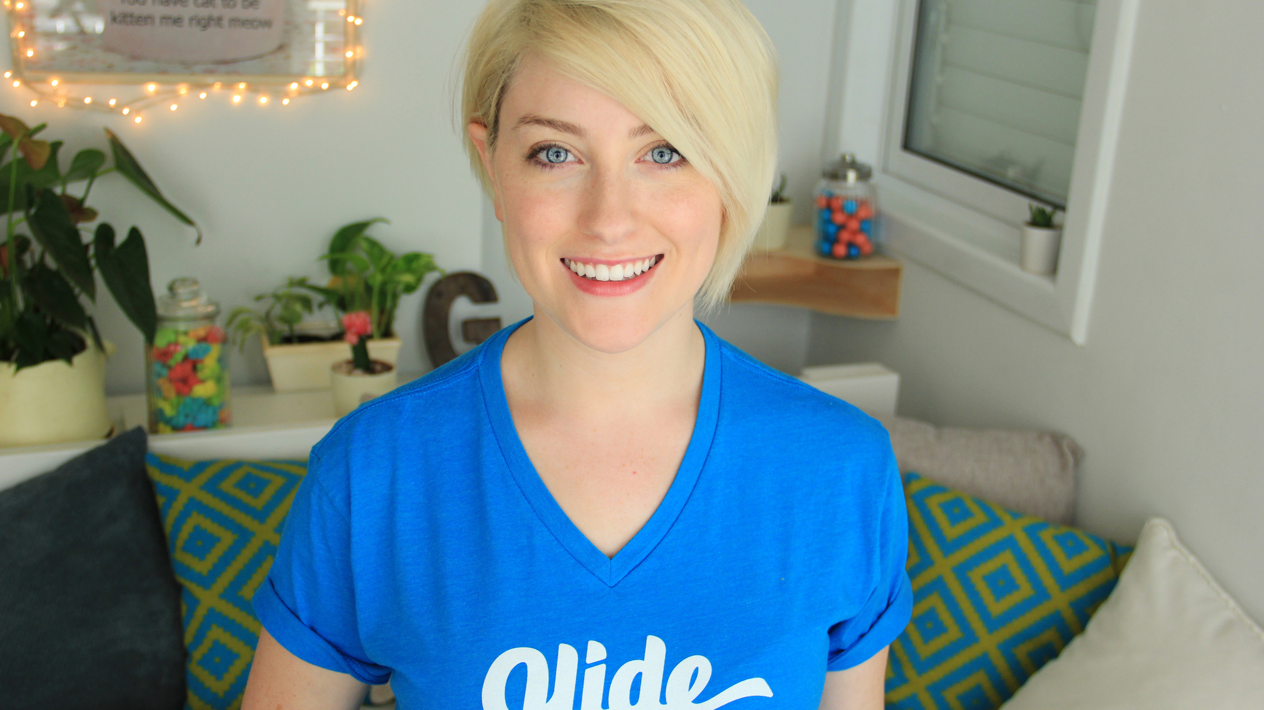 "sarah snow, community manager of the ""glide"" live video messaging app"