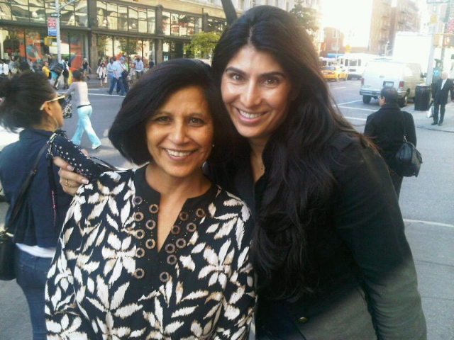 """Sarina Jain and her best friend..aka Mom Jain."" / Photo Courtesy Sarina Jain"