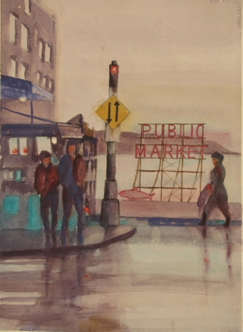 Rain on Pike