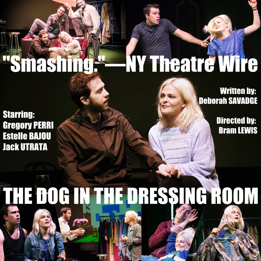 Dog in the Dressing Room Poster with Review.png