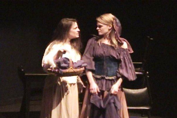 Estelle Bajou (right) and Betsy Sanders. Howard Barker's Scenes from an Execution @ 59 East 59th Theater.jpg
