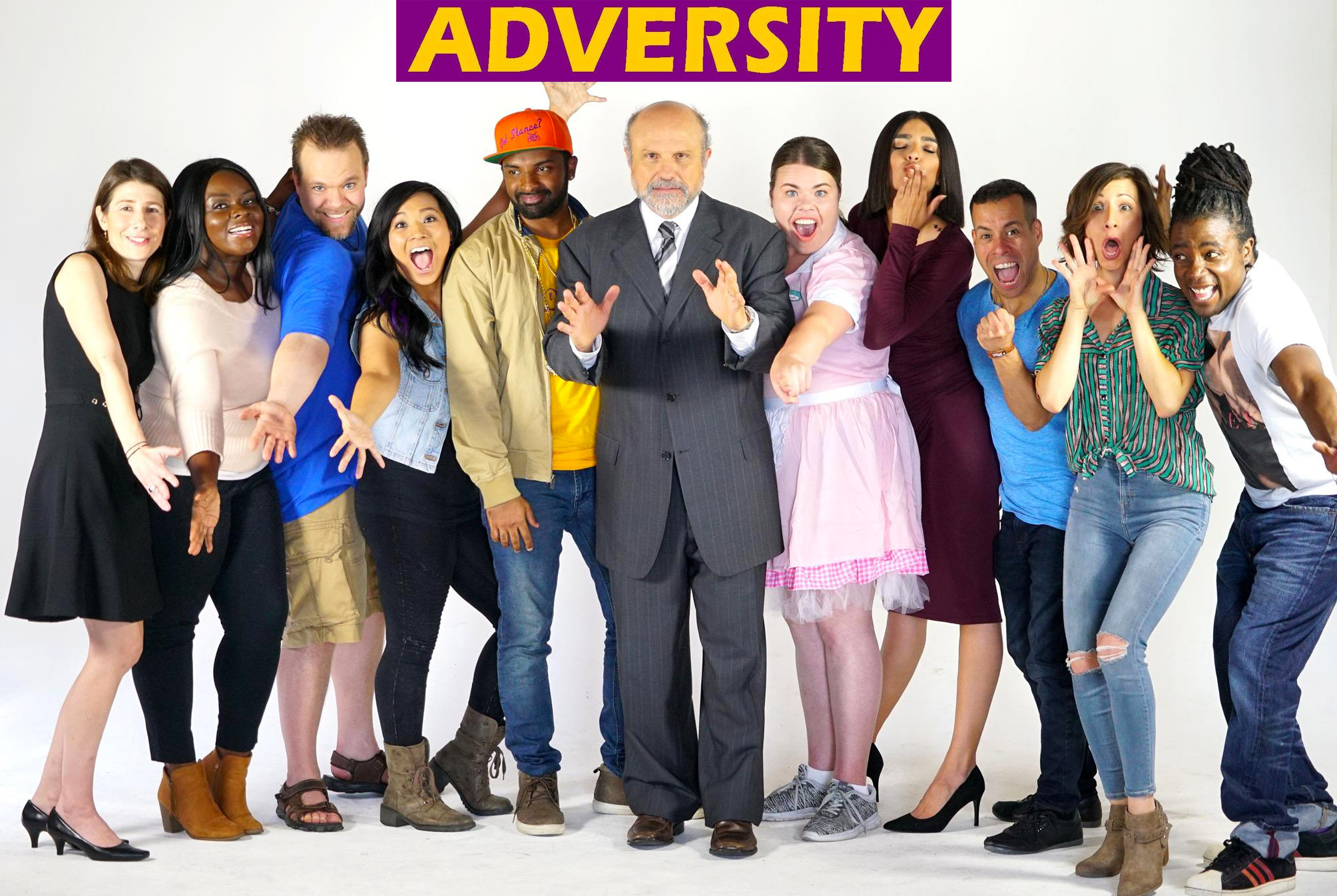 ADVERSITY (2018) - (TV Series/ Serie de Televisión)Credit: 1st Assistant DirectorGenre: Comedy.Director: Dwight F. Lay, Kenyetta Raelyn and Adrienne LevySynopsis:Eight writers in a TV network diversity program, vie for a job, while being led by a racist, washed-up TV exec left over from the days before cable.Country: USA