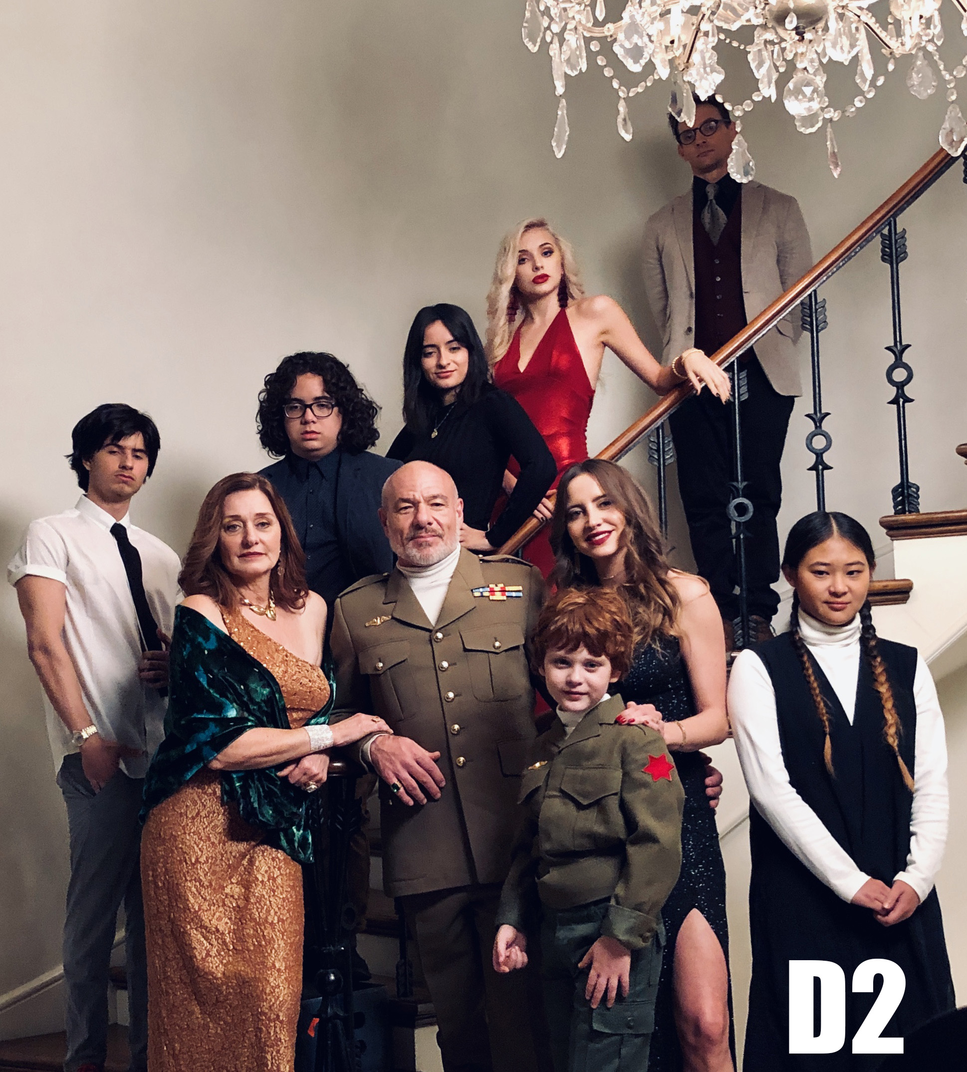 D2  (2019)(In Post-production)(TV Series Pilot) - Credit: 1st Assistant DirectorGenre: Comedy/DramaDirected by Mario GarzaSynopsis:During the dinner of an atypical family, the flaws of each member start to stand out. Country: USA