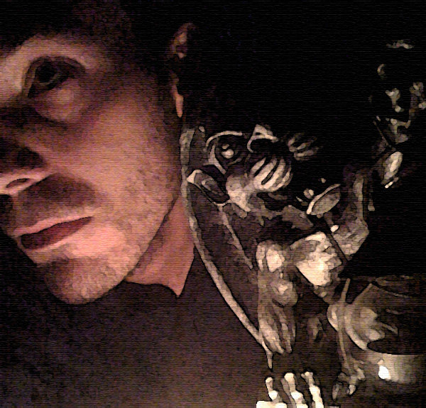 Photo: CK. Ifhac, my gargoyle from Winners. Gargoyles are our nocturnal protectors, coming alive to face foes we cannot. They are watchmen. The watchmen suffer, too.