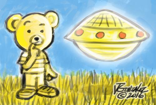 boy bear ufo