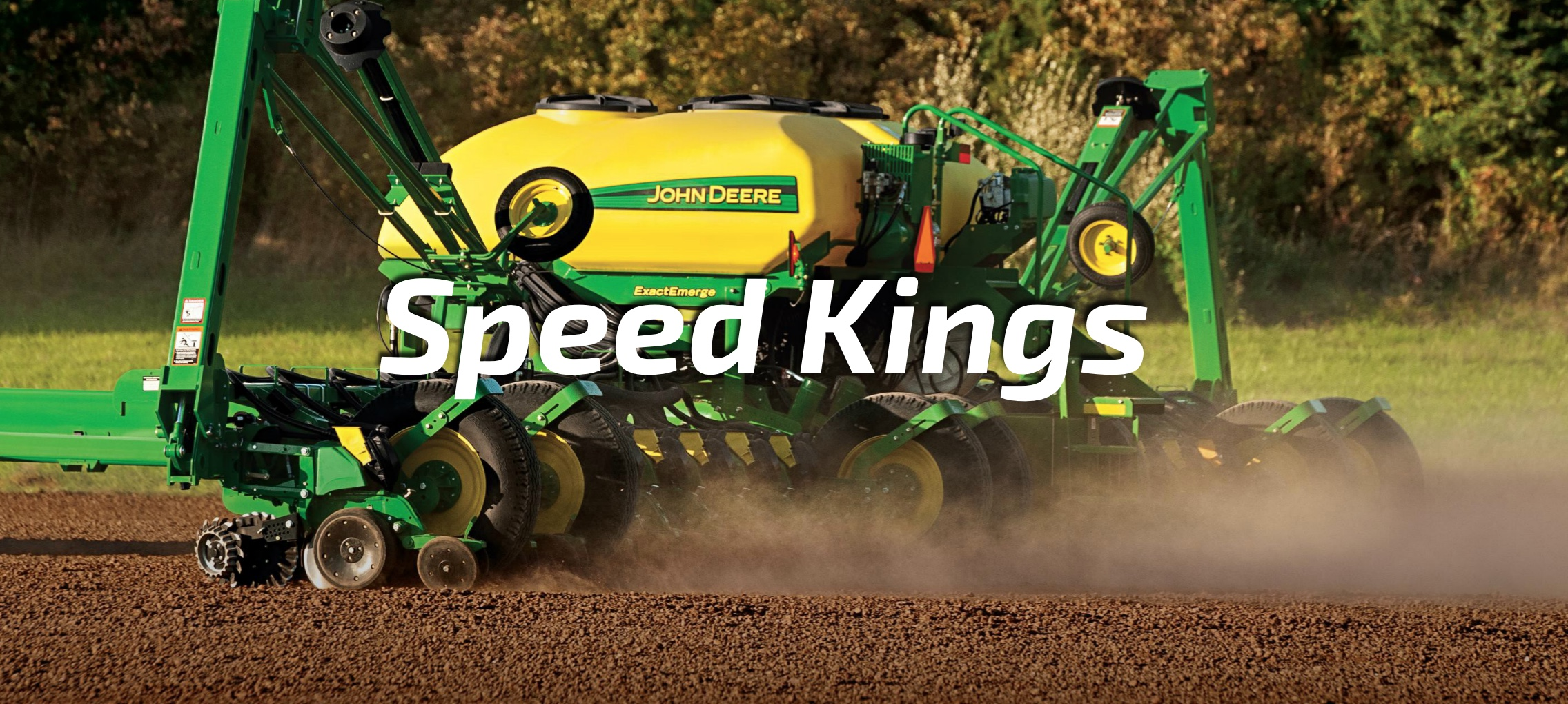 John Deere's high-speed ExactEmerge planter.