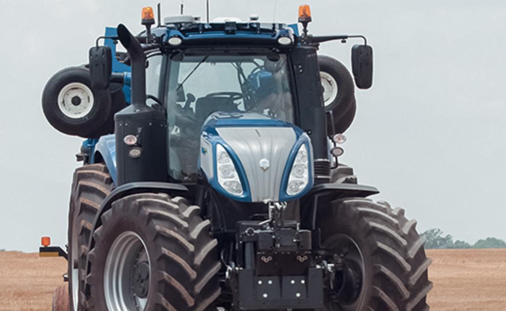 New Holland's NHDrive Concept Autonomous Tractor