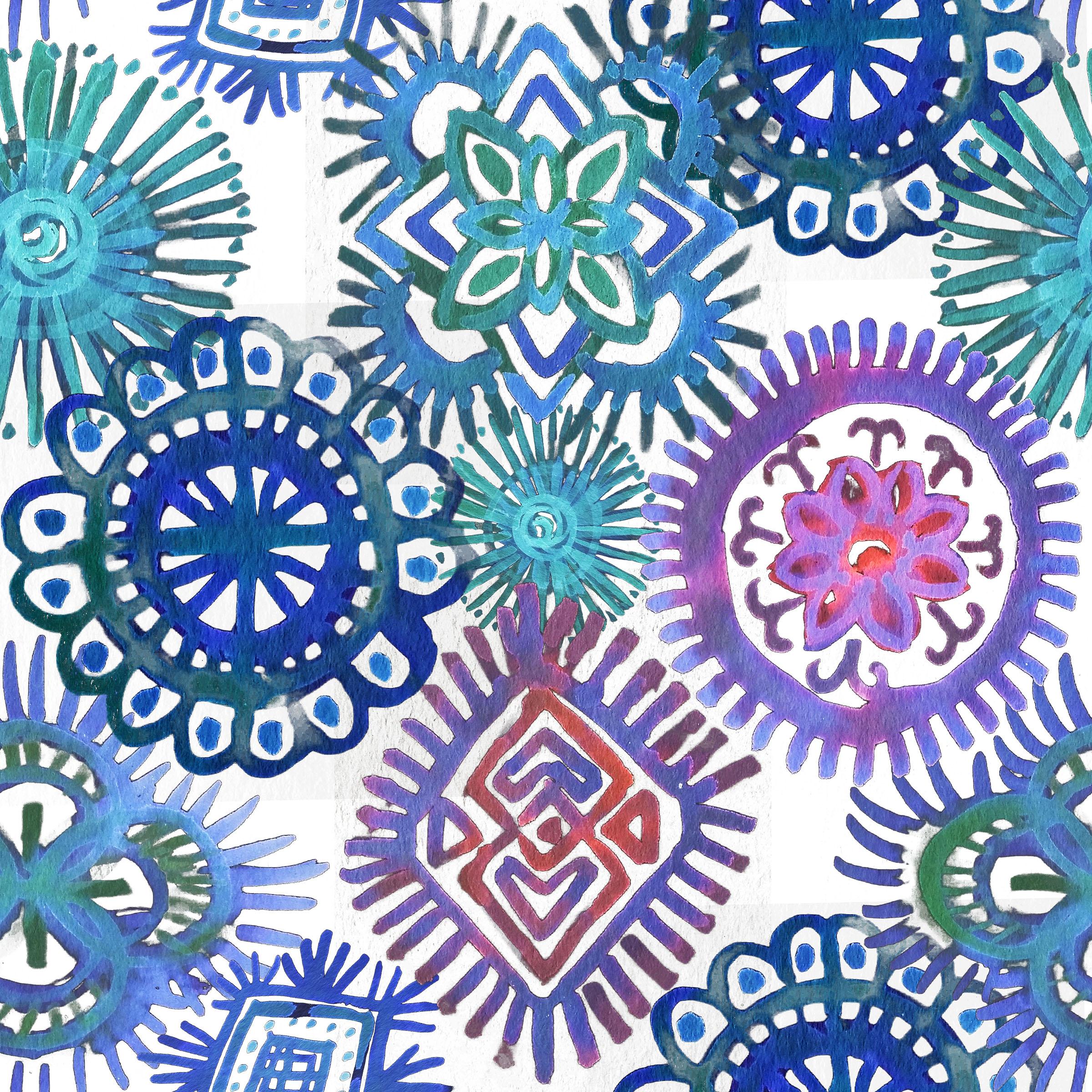 Batik Blues