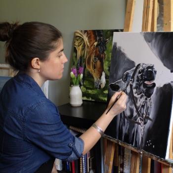 Brooke O'Connell ~Equine Artist www.brookeoconnell.com