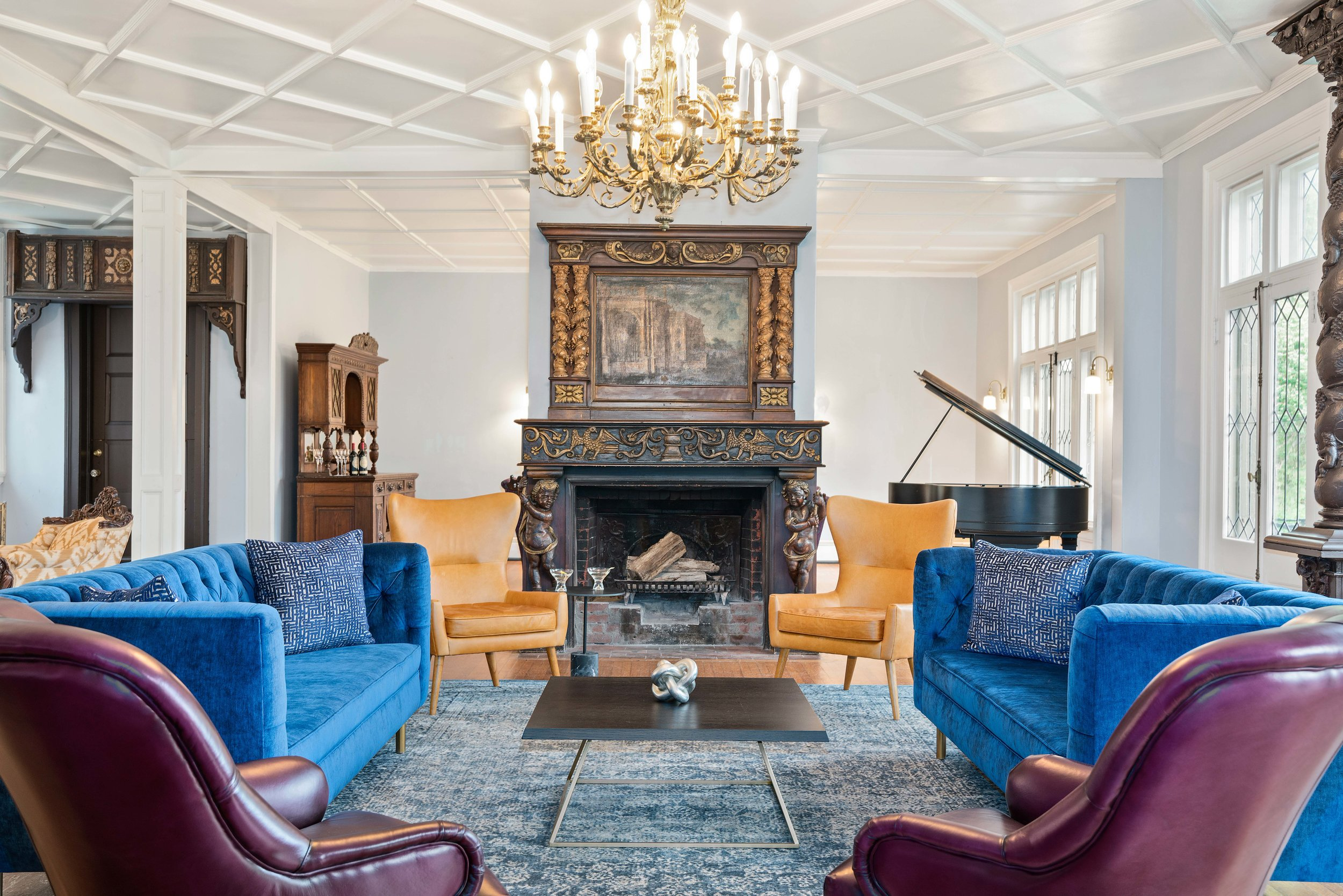 55.jpg Royal Blue and purple w fireplace parlor.jpg