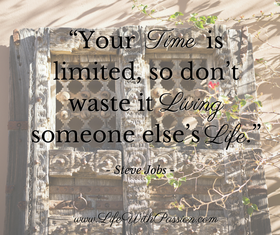 Your time is limited, so don't waste it living someone else's life - Jobs - Contact.png