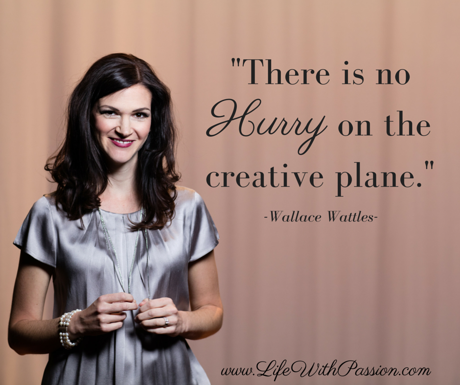 There is no HURRY on the creative plane - Wattles - Contact.png