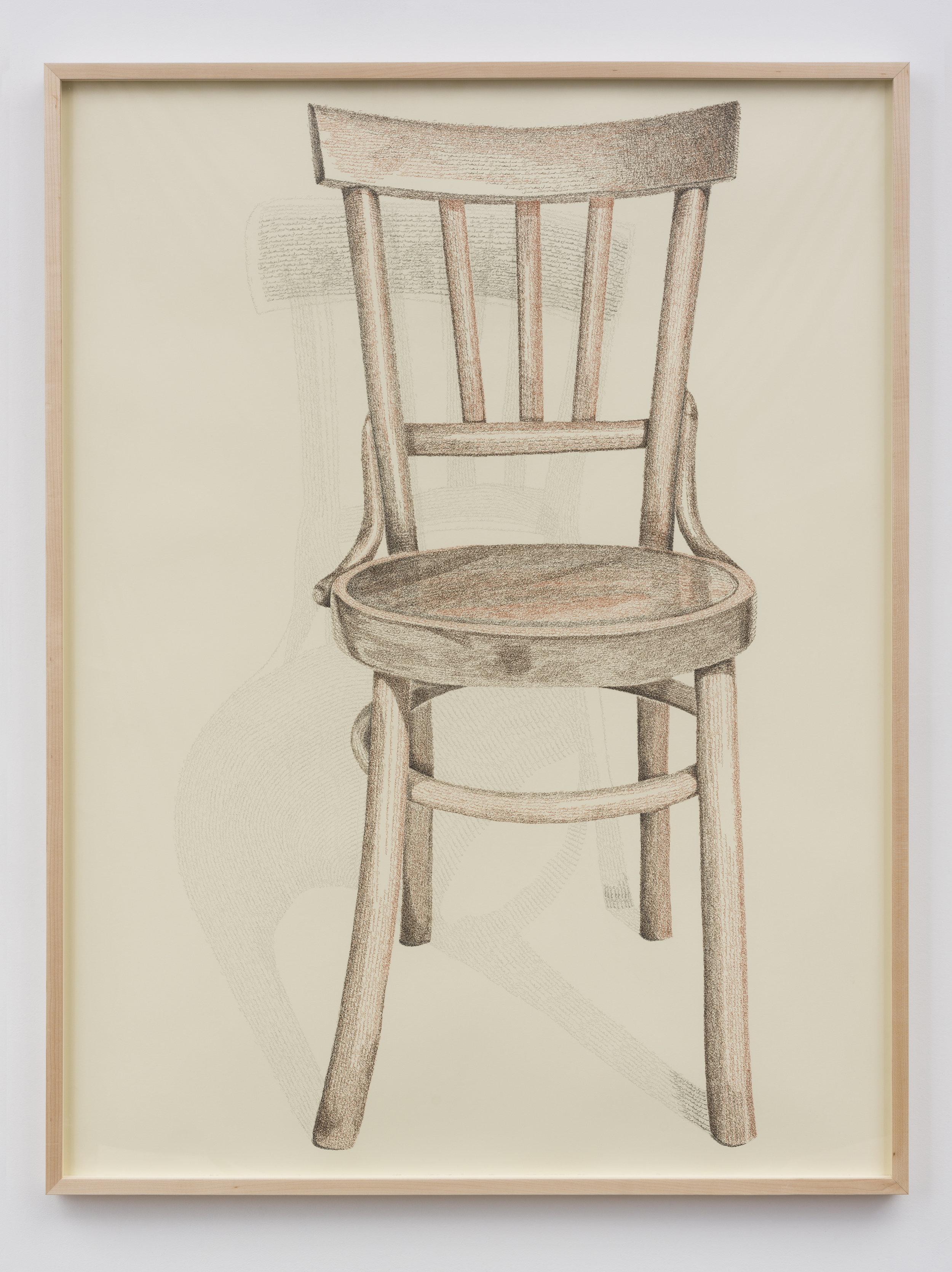 Grandfather's brown chair (Sandali Lahestani), 2018