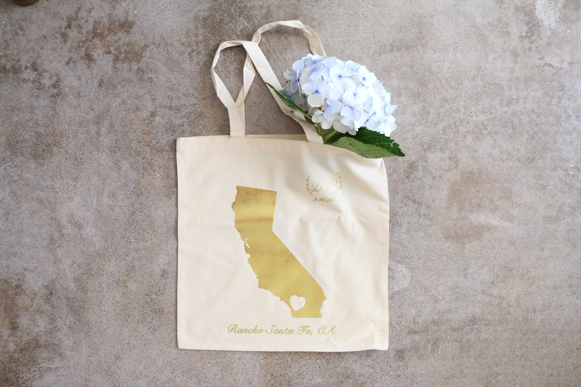 Gold California Wedding Guest Bags-Anthony and Stork.JPG