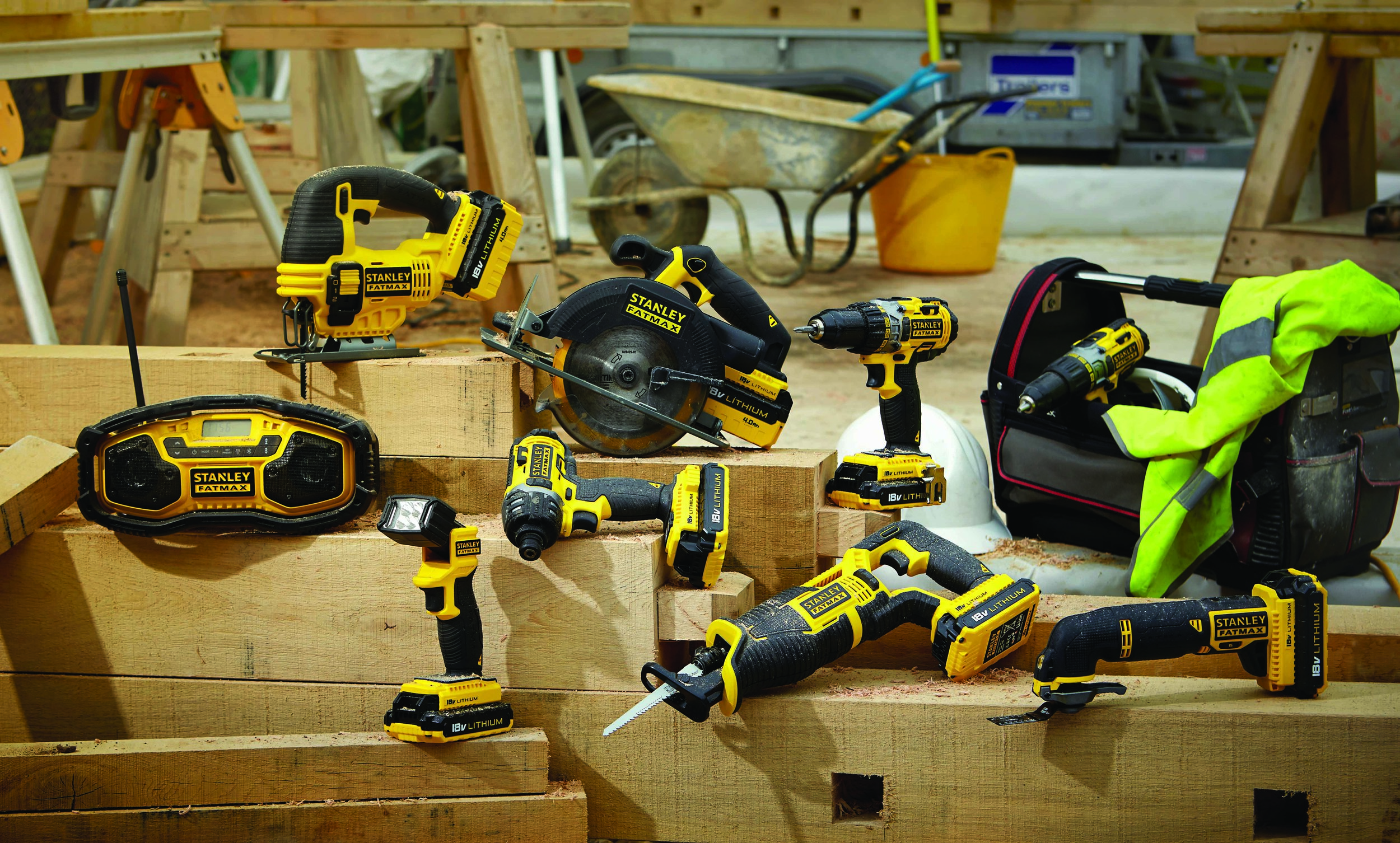 New Range Available: Stanley FATMAX power tools | Mitre 10
