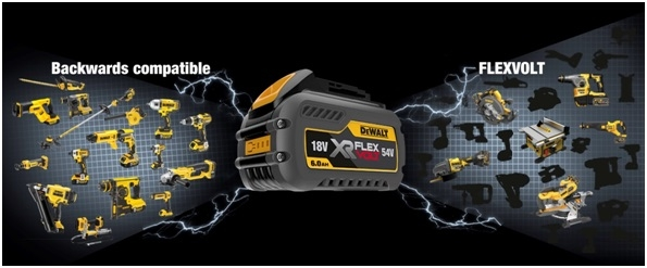 The groundbreaking DEWALT FLEXVOLT battery system | Mitre 10 Trade Blog