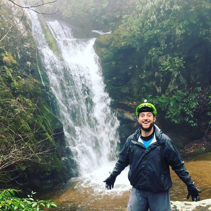 Dale at Wolf Creek Falls