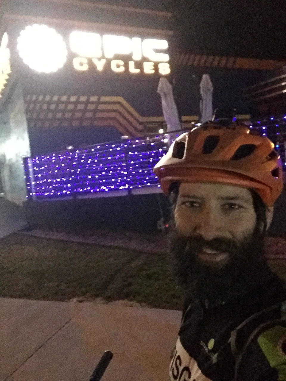 Epic Cycles, Claremont Florida, Check Point 3 around 9pm.