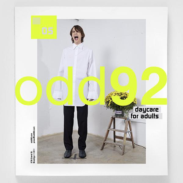 odd92 Clothing Store Branding & Art Direction