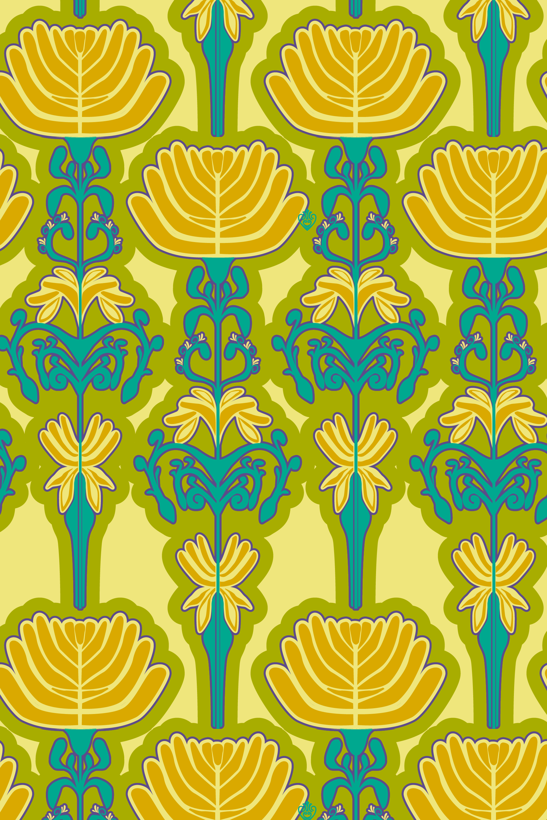 These wallpaper flowers are much more my jam. ©2018 Alyson Jon Life, All Rights Reserved