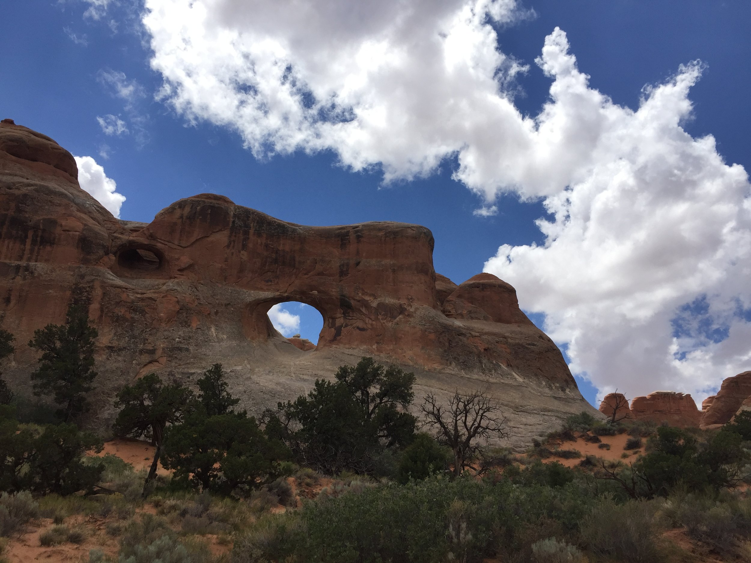 The original formation which I believe is a Window Arch.