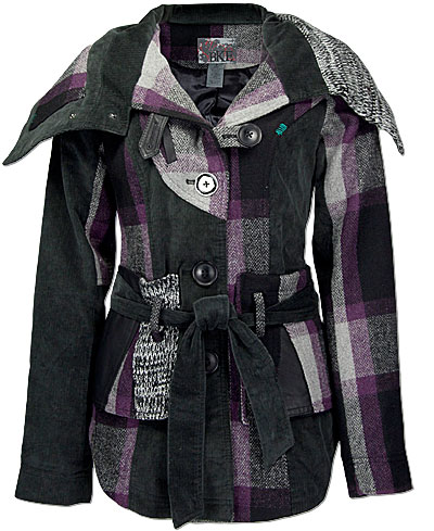 A Juniors jacket I created for The Buckle in 2009.