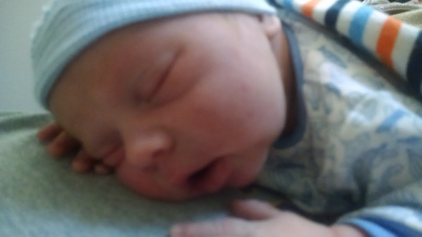 Sweet baby Eli