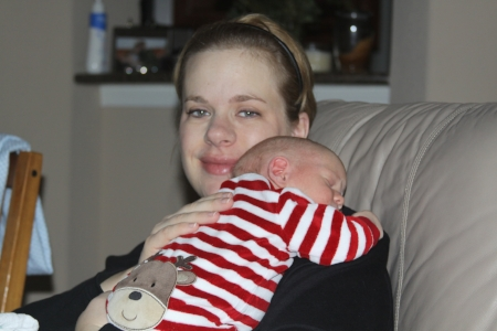 My son is 2 weeks old in this picture. And I was completely miserable. My anxiety was so high I could barely sit still to hold him. Postpartum depression and anxiety have so many different masks, and I learned how to fake a smile to pretend everything was ok. It never crossed my mind to take a picture breastfeeding my son