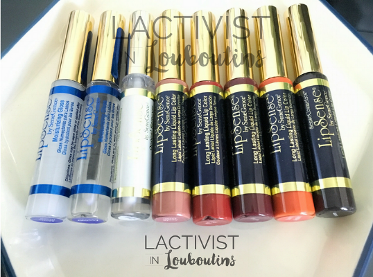 My LipSense Collection