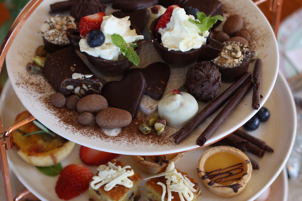 Extraordinary chocolate infused High Teas…