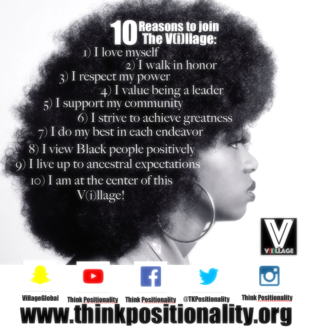 Parents here are 10 reasons your children should join The V(i)llage! It is our motto that each participant learns...