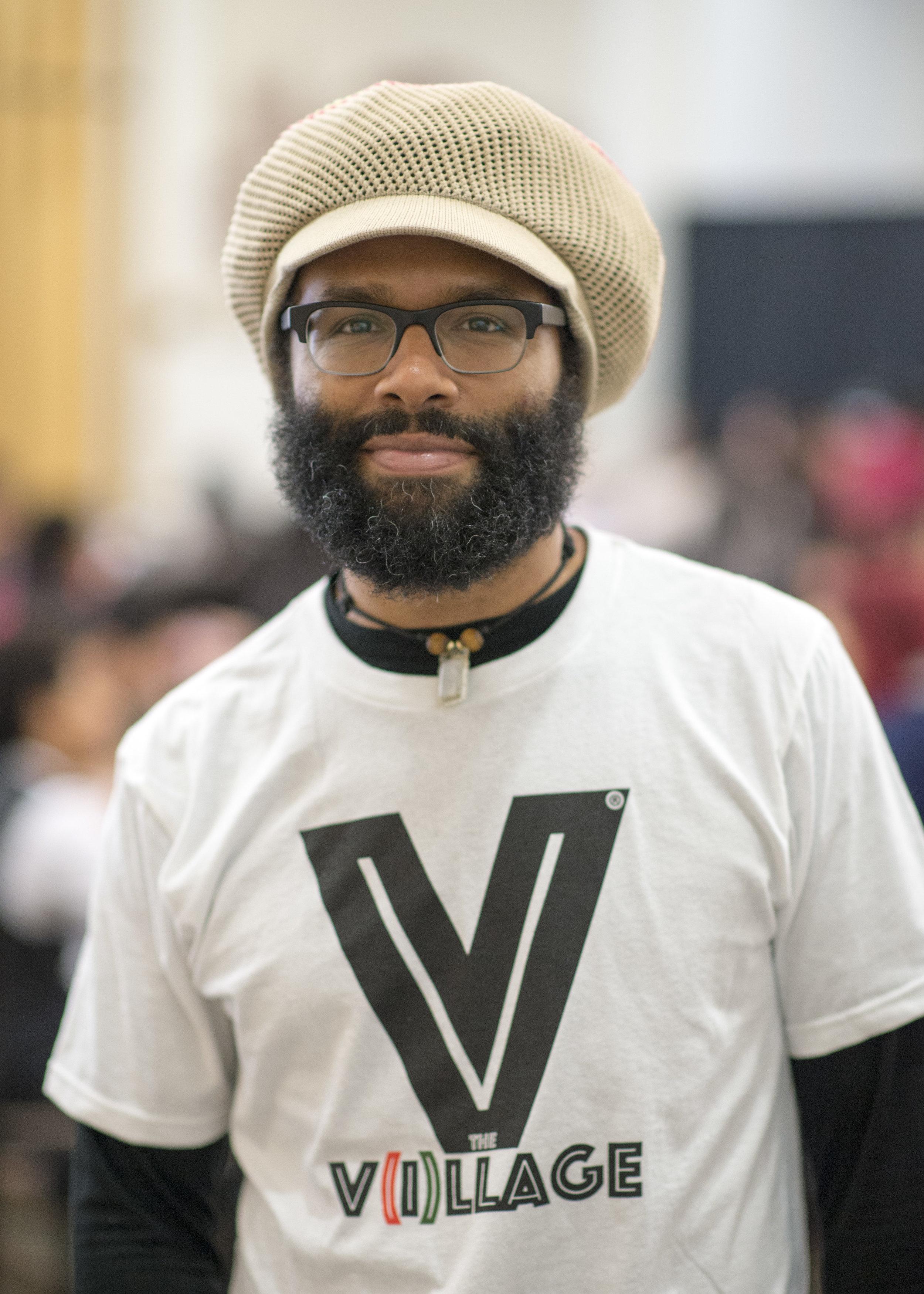 Graduate student + Black Graduate Student President Volunteer Eliot Sykes attending the STEM U event at the University of Utah.
